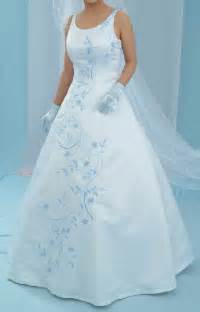 baby blue dresses for wedding wedding dresses with baby blue accents flower dresses
