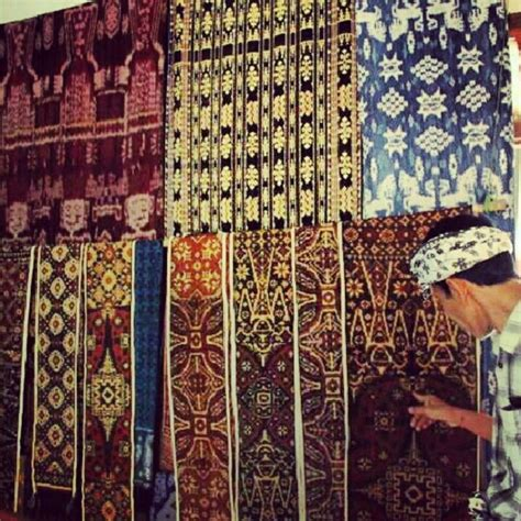 Kain Batik Print Asli 10 kain tenun gringsing bali aga fabric bali