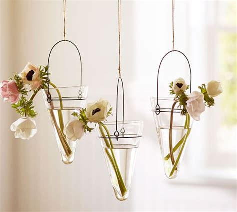 Hanging Vases by Droplet Hanging Vase Pottery Barn