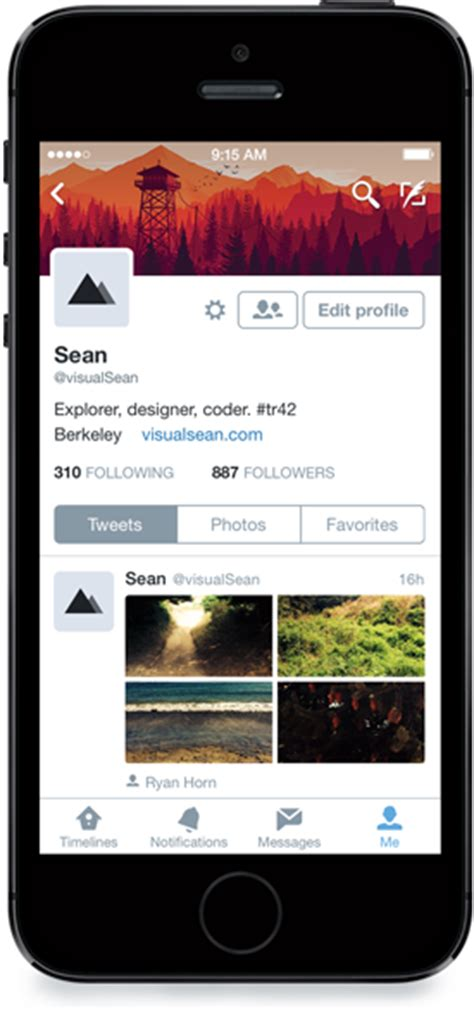 twitter iphone layout twitter s iphone app gains interactive notifications on