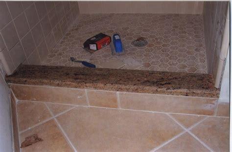 shower curb marble shower curb master bathroom walkin shower