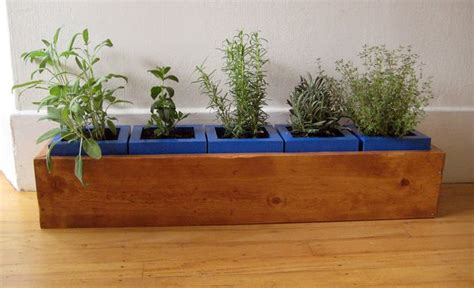 Indoor Herb Planter Box by Indoor Herb Garden Furniture