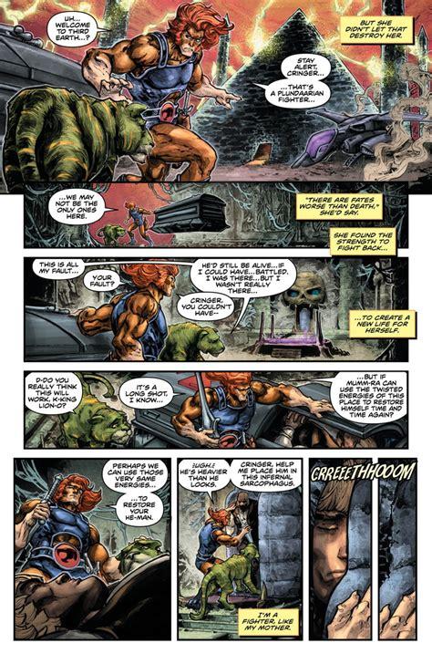 Dc Comics He Thunder Cats 4 March 2017 comics continuum dc comics looks he thundercats 4