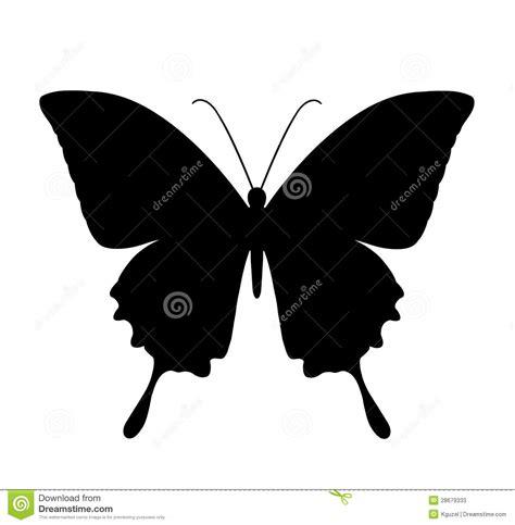 imagenes de mariposas siluetas mariposa siluetas negras en blanco fotos de archivo