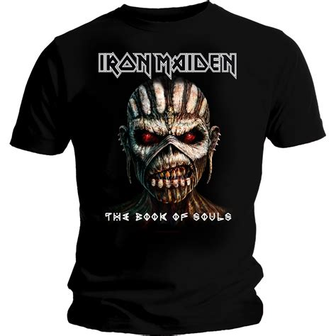 T Shirt The Iron iron maiden the book of souls t shirt