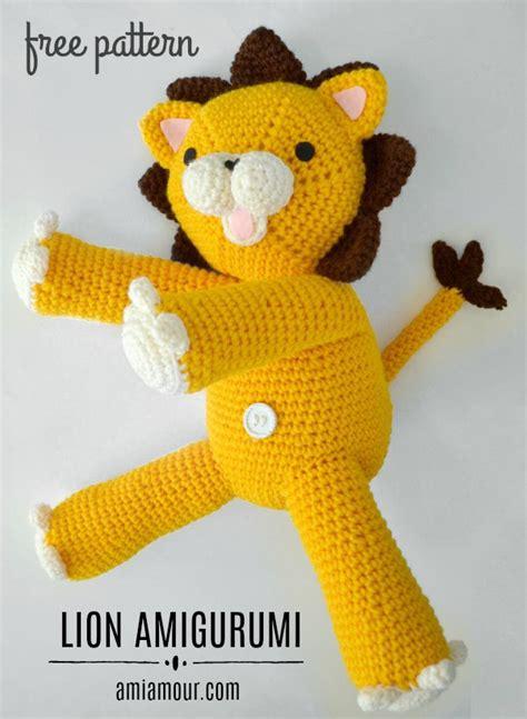 amigurumi lion crochet amigurumi pattern free ami amour