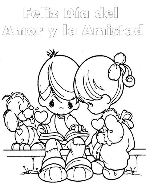 imagenes de amor y amistad para colorear pinto dibujos d 237 a del amor y la amistad para colorear