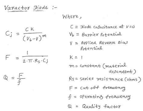 diode junction capacitance equation diode capacitance equation 28 images 포스텍 전자회로1 2과 5강 6 pc cp200 electronics laboratory i