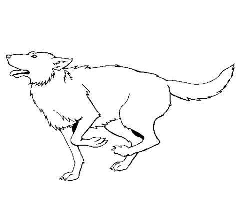 Dog Running Coloring Page | dog running coloring page coloringcrew com