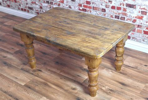 Rustic Farmhouse Coffee Table by Rustic Farmhouse Pine Coffee Table Made From Reclaimed Wood