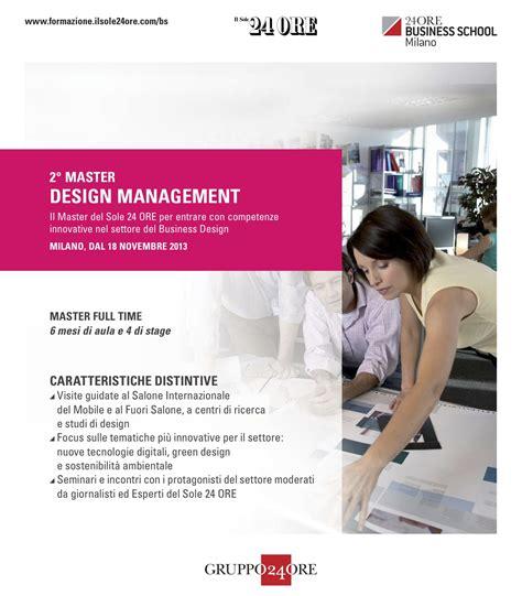 design management masters newtone con ars et inventio master design management
