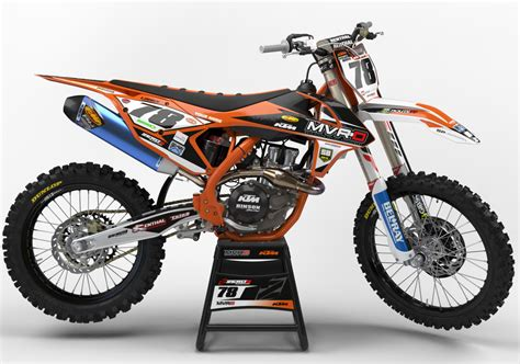 Ktm Decals Ktm Sx Sxf Mx Graphics Motocross Graphics 125 250 350 450
