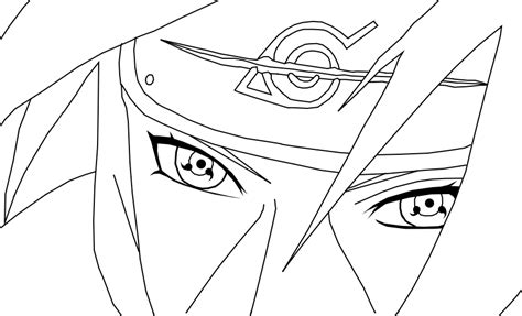imagenes de itachi para dibujar a lapiz itachi uchiha dibujo para colorear imagui