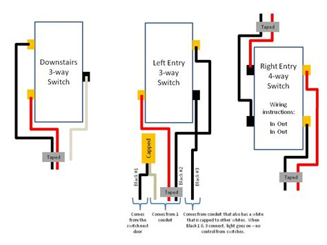 wiring diagram for leviton 4 way switch readingrat net inside techunick biz