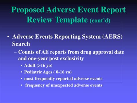 ppt adverse event tracking as mandated by the best