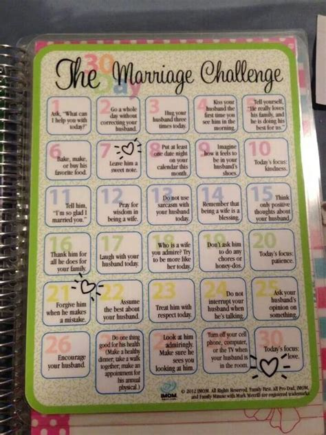 Marriage Planning Ideas by Marriage Challenge Planners And Marriage On
