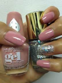gel color nails best 25 la colors nail ideas on