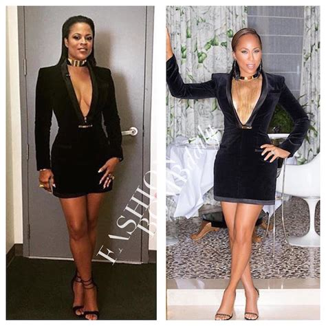 lori harvey how tall who wore it better shaunie o neal vs marjorie harvey in