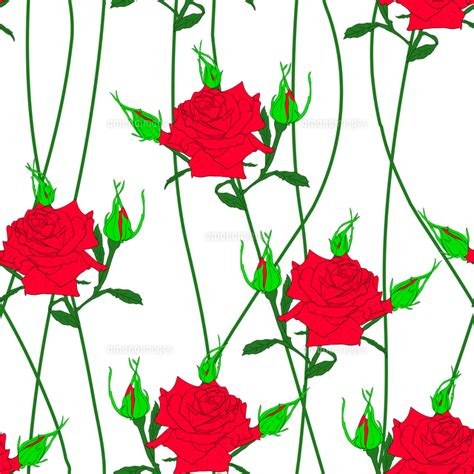 Cd Seamless Flower 3d seamless background with flower roses could be used as