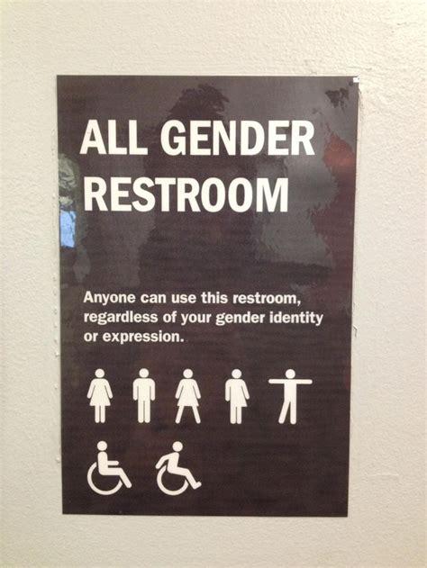 bathroom gender signs best 10 gender neutral bathroom signs ideas on pinterest