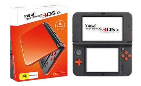 new nintendo 3ds console new nintendo 3ds xl orange black console eb