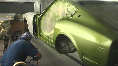 datsun 240z 113 avocado metalic green paint
