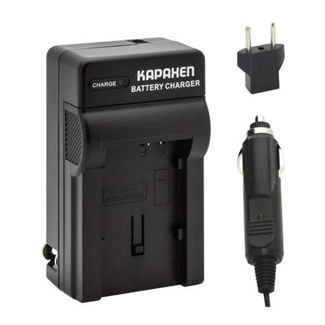 canon camcorder charger kapaxen rapid battery charger kit for canon bp 820 bp 828