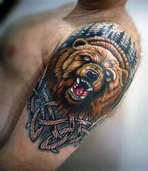 bear sleeve tattoo designs 20 celtic designs for tribal ink ideas