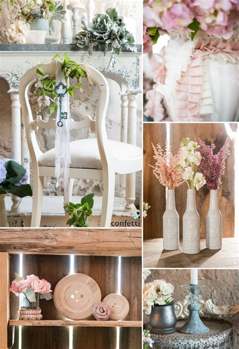 Chic Wedding Decor by Vintage Vs Shabby Chic Confetti Co Uk