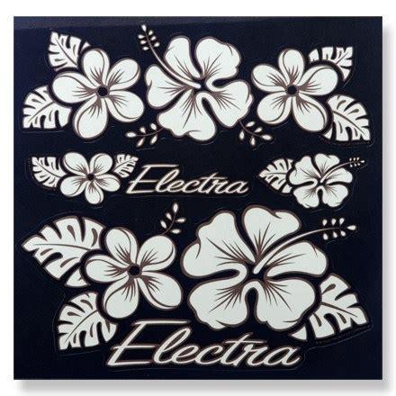 Electra Aufkleber Set Hawaii by Electra Sticker Set Hawaii At Rei