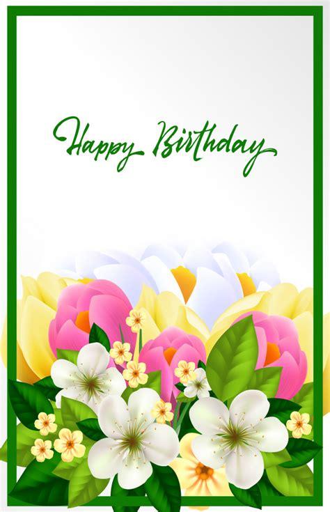 Beautiful Free Birthday Cards beautiful birthday card vector free