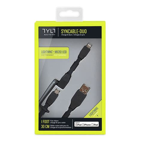 Cabstone Syncable Micro Usb Black duo syncable micro lightning usb 0 3m black tylt