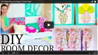 Diy Projects For Bedroom Decor Diy Teen Room Decor Tumblr Creative Diy Room Decor Ideas