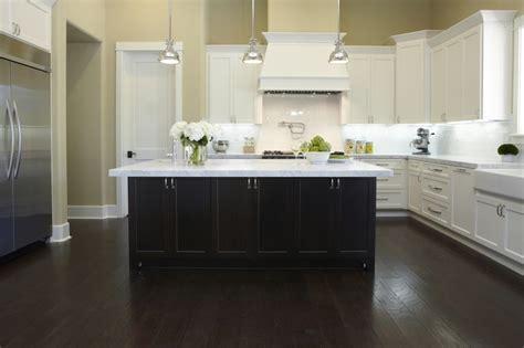 two tone kitchen cabinets espresso fautt homes kitchens two tone kitchen white shaker