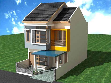 gambar layout rumah 2 lantai gambar rumah 2 lantai type 60 rumamu di