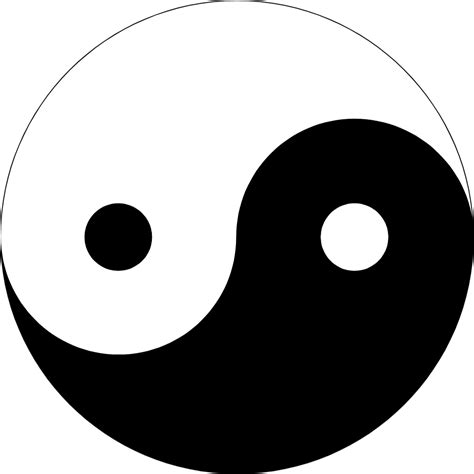what does the yin yang symbolize black and white yin yang symbol