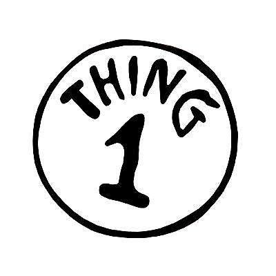 thing 1 template thing 1 thing 2 iron on ebay