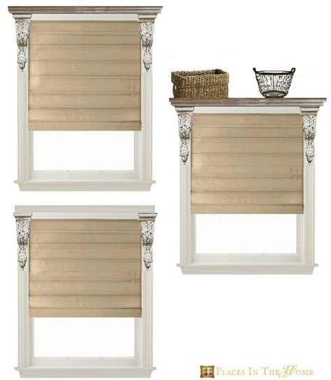 Window Corbels Bathroom Window Treatment Ideas Places In The Home