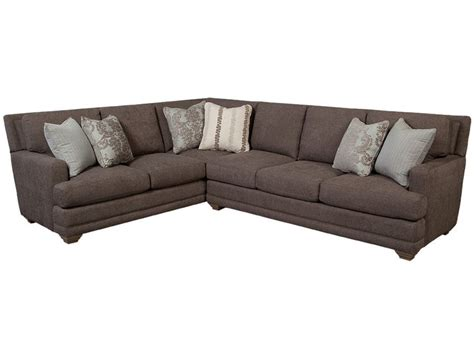 craftmaster sectional sofa craftmaster living room sectional 7536 sect lauters fine