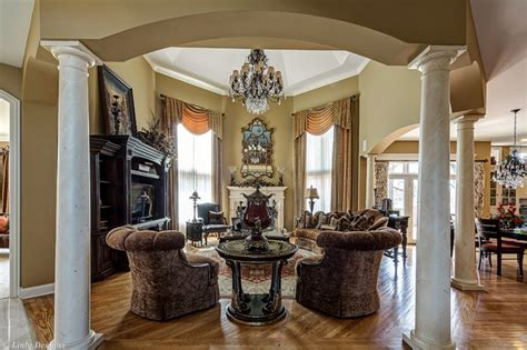 custom marge carson family room traditional family room chicago linly designs