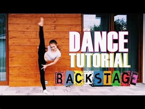 tutorial dance youtube dance tutorial l disney backstage youtube