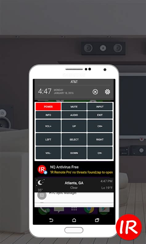 infrared app for android ir universal remote wifi android apps on play