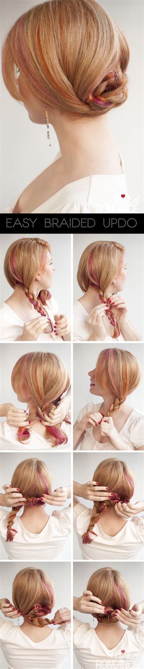 diy occasion hairstyles 12 easy diy hairstyle tutorials for every occasion