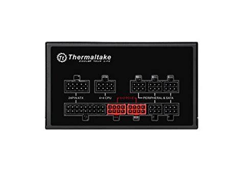 Thermaltake Smart Pro Fully Modular Rgb 850w 80 Plus Br Termurah thermaltake smart pro rgb 850w 80 bronze smart zero 256