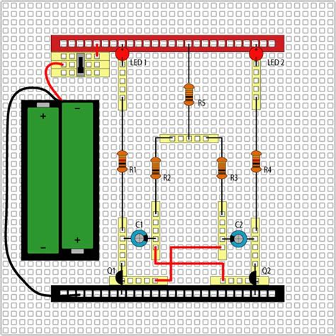 5eboard how to make led lights blink middle school