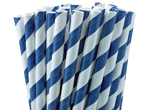 Striped Paper Straws striped paper straws two bees
