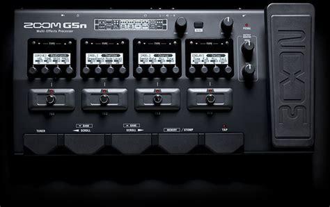Zoom G5n Guitar Multi Effect g5n multi effects processor zoom