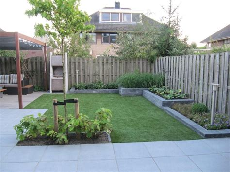 verhoogde tuin verhoogde borders niveau verschil jversteegh tuin