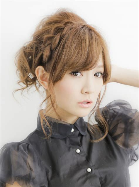 everyday cute hairstyles japanese cute braided hairstyle i think i can do this