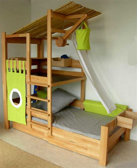 Awesome Kids Beds Toddler Bunk Beds That Turn The Bedroom Into A Playground